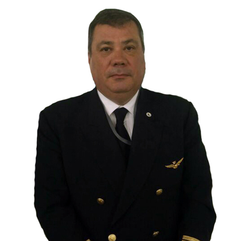 Captain Marco Carnevaletti - CFI (Chief Flight Instructor)